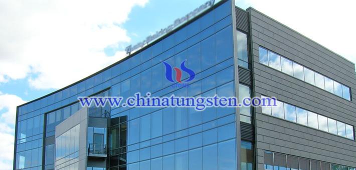 隔热建筑玻璃用紫钨图片