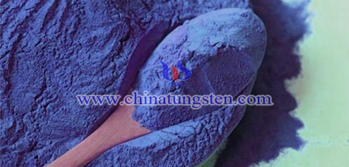 玻璃隔热膜用蓝色氧化钨粉图片