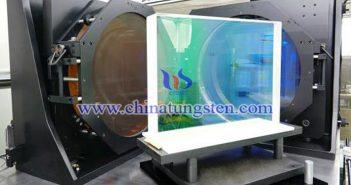 大尺寸激光薄膜反射元件图片