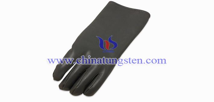 钨聚合物手套图片