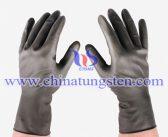 钨聚合物手套