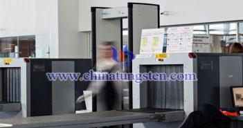 钨聚合物安检帘子图片