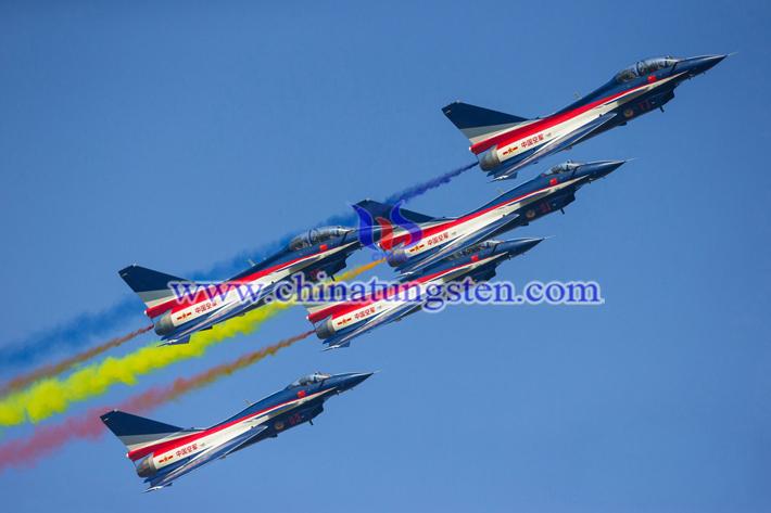 珠海航展的飞行表演