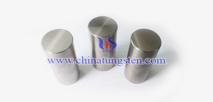 95W-3Ni-2Fe 钨合金圆柱图片