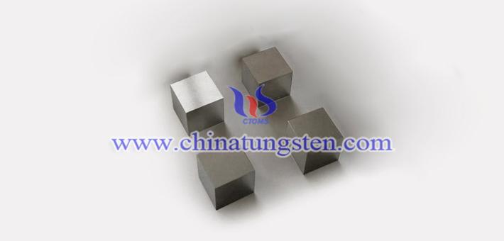 92.5W-5.4Ni-2.1Fe 钨合金砖图片