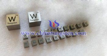 95W-3.5Ni-1.5Cu 钨合金砖图片