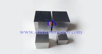95W-3.5Ni-1.5Fe 钨合金砖图片