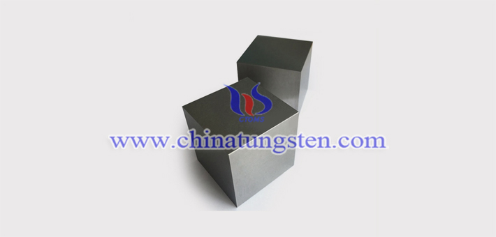 95W-4Ni-1Cu 钨合金砖图片