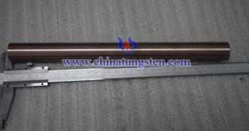 Ø12x200mm钨铜合金棒图片