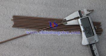 Ø3x200mm钨铜合金棒图片