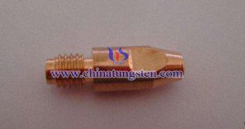 钨铜导电嘴图片