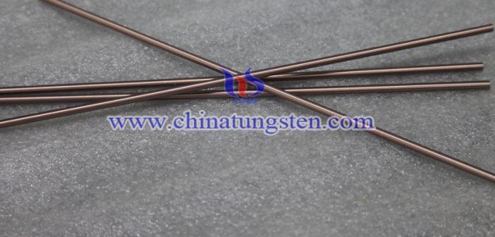 脉冲电弧钨铜电极图片