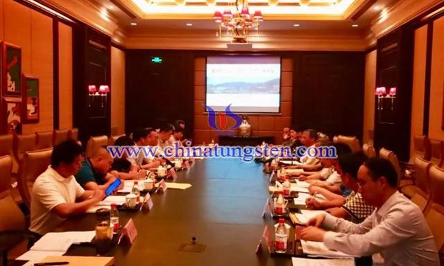 中国钨协倡议钨矿山企业减产