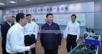 领导人赴江西考察调研,除了稀土,钨也不可忽视