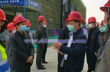 厦门市政协副主席李钦辉一行深入厦钨永磁电机产业园调研