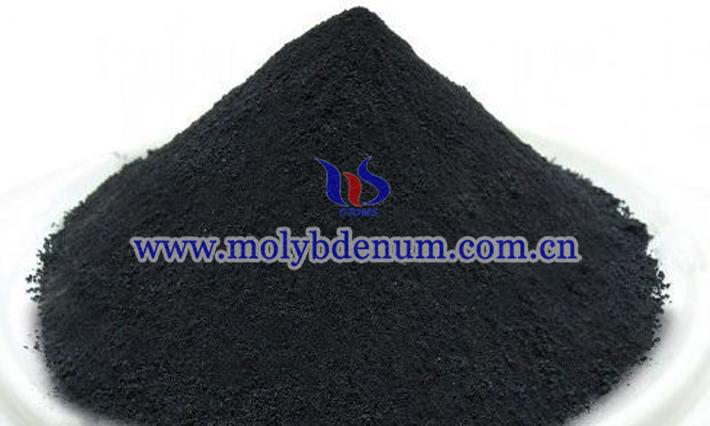 二硫化钼粉末图片