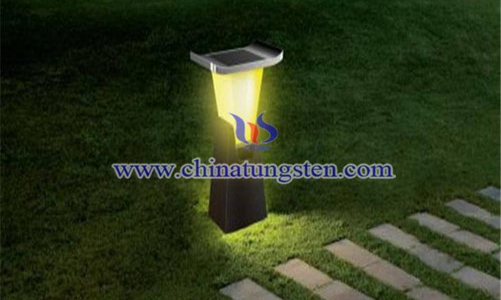 草坪灯锂电池图片