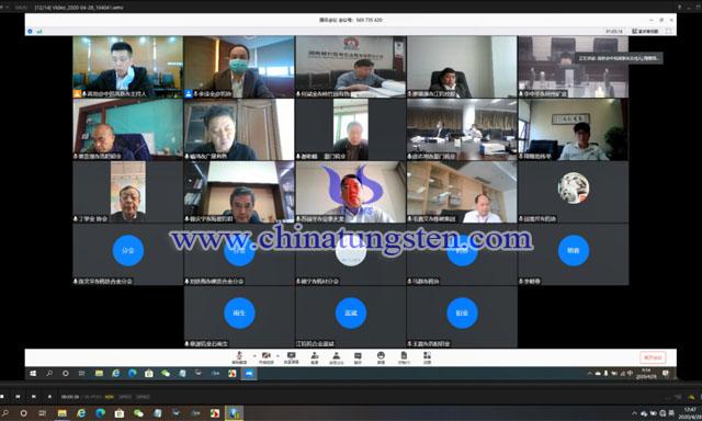 会议全景(部分参会代表为保障会议顺畅关闭了视频)