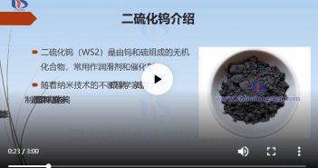 什么是二硫化钨纳米片图片