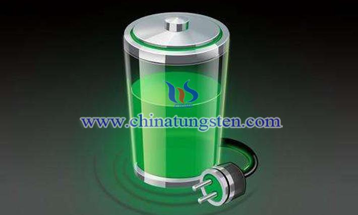 锂离子电池阴极混二硫化钨纳米片图片