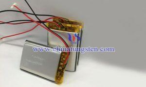 电动洁面仪锂电池含WO3纳米线图片