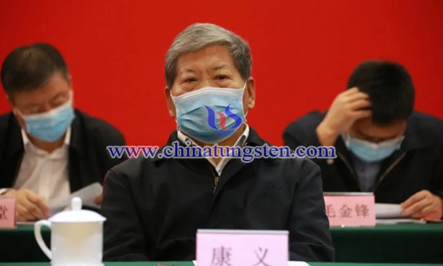 中国有色金属工业协会原会长康义
