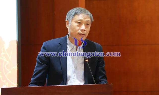 中国矿业联合会党委书记、会长彭齐鸣