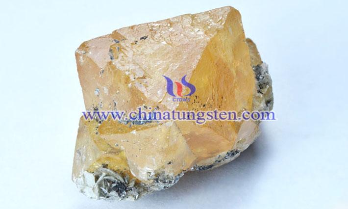 钨矿选矿工艺流程图片